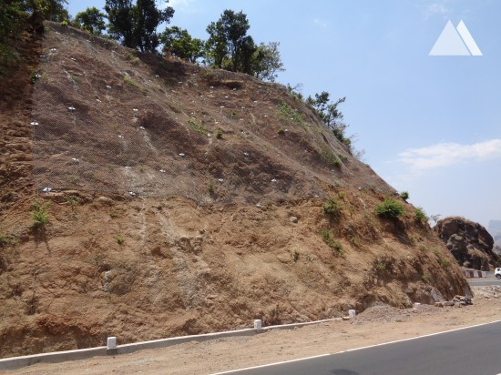 Slope Protection - Malshej Ghat, NH222 (1) 2019