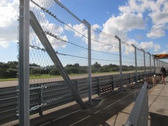 Nardo Technical Center proving ground (NTC) 2014 - Geobrugg