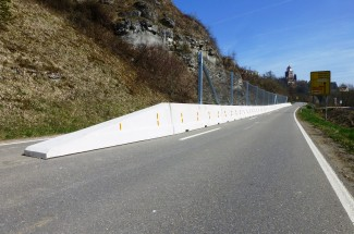 Road protection Haigerloch 2015 - Geobrugg