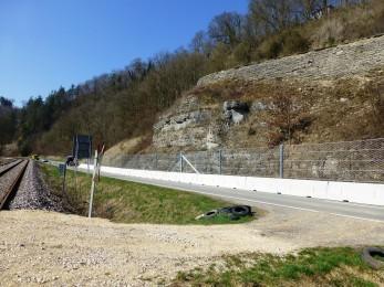 Road protection Haigerloch 2015 - Geobrugg