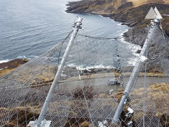 Ochrona przed lawinami - Sørøya I 2019