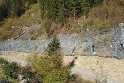 Proteção contra desprendimentos - Danielsberg 2019