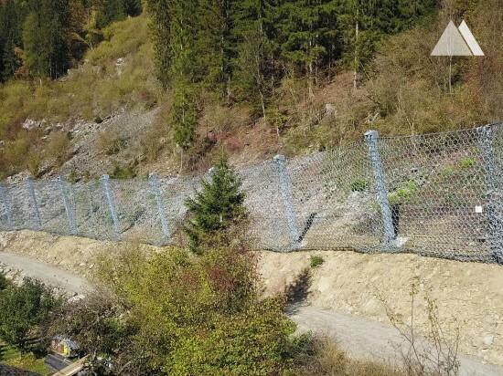 Ochrona przed obrywami skalnymi - Danielsberg 2019