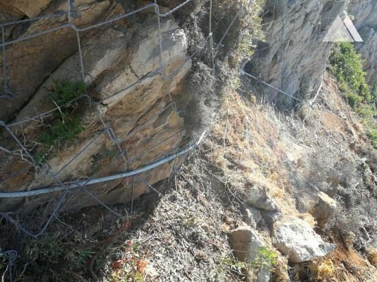 Ochrona przed obrywami skalnymi - Buggerru (SC) 2019