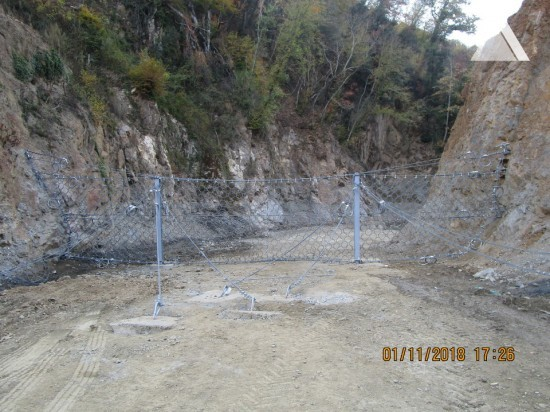 Debris Flow & Shallow Landslide Protection - Hellas Gold 2019
