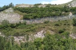 Ochrona przed obrywami skalnymi - Campomanes-Lena 2019