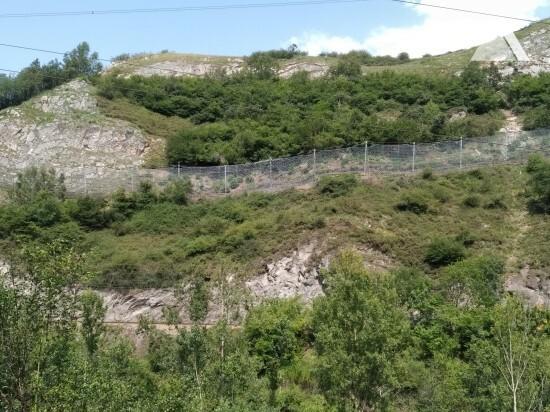 Protecţia împotriva căderilor de pietre - Campomanes-Lena 2019