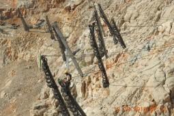 Protecţia împotriva căderilor de pietre - Khasab coast road 2019
