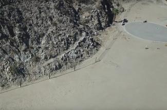 Protección contra caídas de rocas - La Quinta, California 2019