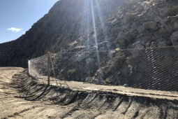 Rockfall Protection - La Quinta, California 2019