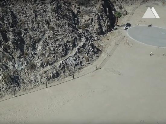 Protecţia împotriva căderilor de pietre - La Quinta, California 2019