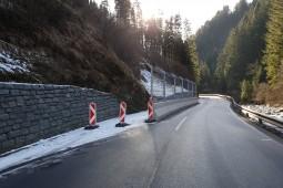 Ochrona przed spływami gruzowymi (rumowisko) i płytkimi  osuwiskami - Katschbergstrasse B99 (1) 2019