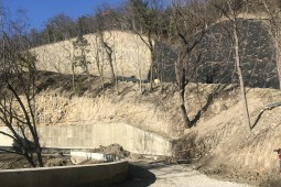 Estabilización de taludes - Krinitsa   Krasnodarskiy kray 2019