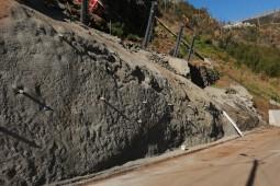 Protecţia împotriva căderilor de pietre - Estrada Comandante Camacho de Freitas, Madeira 2020