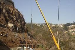 Proteção contra desprendimentos - Estrada Comandante Camacho de Freitas, Madeira 2020