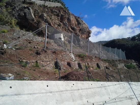 Камнепады, обвалы, осыпи - Estrada Comandante Camacho de Freitas, Madeira 2020