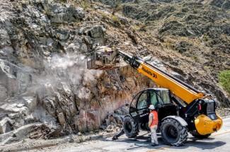 边坡稳定 - Cacheuta Tunnel - Mendoza - Road N°82 2020