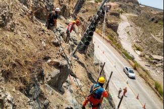 Hangmuren- und Murgangschutz - Cacheuta Tunnel - Mendoza - Road N°82 2020