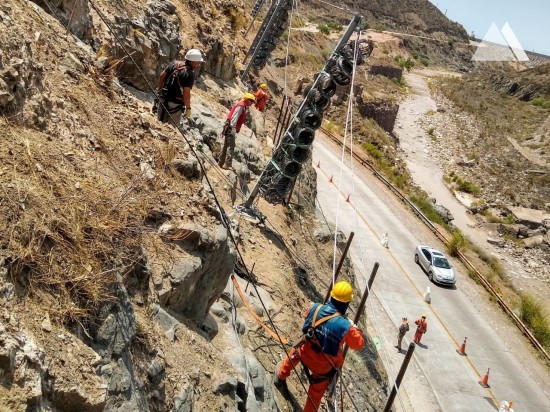 Rockfall Protection - Cacheuta Tunnel - Mendoza - Road N°82 2020