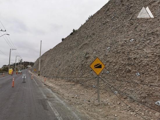 Böschungsstabilisierung - Vallenar North Entrance 2020