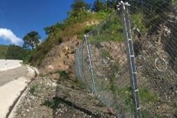 Hangmuren- und Murgangschutz - El Florido - Los Ranchos. Km24 2019