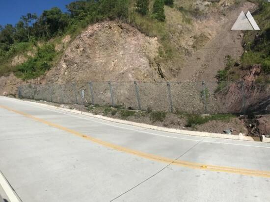 Protección contra flujos de detritos y deslizamientos superficiales - El Florido - Los Ranchos. Km24 2019