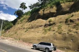 Укрепление склонов - La Entrada - Santa Rosa de Copán. Km152 2019