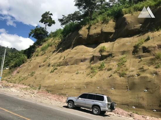 Slope Protection - La Entrada - Santa Rosa de Copán. Km152 2019