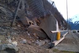 Protection contre les chutes de pierres - Skagway, Alaska 2020