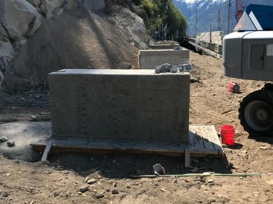 Steinschlagschutz - Skagway, Alaska 2020