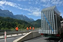 Protecţia împotriva căderilor de pietre - Bodenberg B21 2020