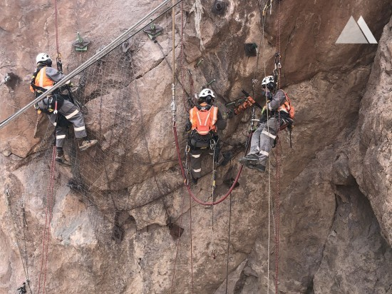 Rockfall Protection - Hoover Dam Visitors Center 2020
