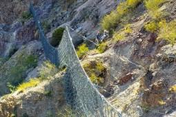 Proteção contra desprendimentos - Hydraulic Power Plant Nihuil 2 - San Rafael 2019