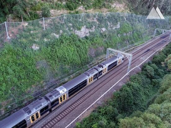 Rockfall Protection - Stanwell Park, Railway Corridor, 2020 2020