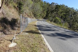 Delimitarea drumurilor - Enoggera, Mount Nebo Road 2020