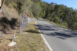 Protection contre les chutes de pierres - Enoggera, Mount Nebo Road 2020