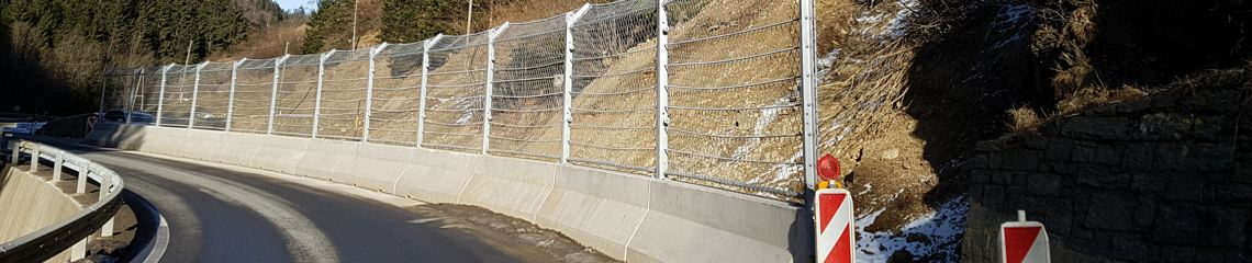 To protect roadways, we developed fencing especially suited to withstand high energies. Due to their high stability, these fences resist impacts and offer the highest safety standards at a reasonable price.